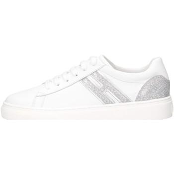 Scarpe Bambina Sneakers basse Hogan HXC3400K390NME0351 Sneakers Bambina Bianco Bianco