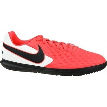Scarpe Unisex bambino Sport Indoor Nike Tiempo Legend 8 Club IC Jr rosso