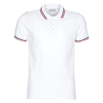 Abbigliamento Uomo Polo maniche corte Casual Attitude M.BOUPI Bianco