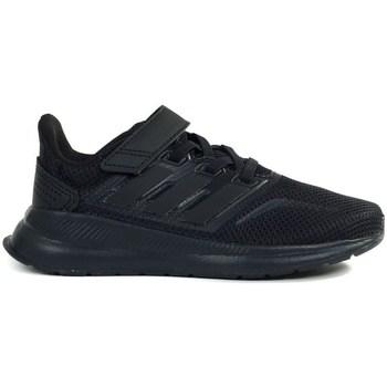 Scarpe Unisex bambino Running / Trail adidas Originals Runfalcon C Nero
