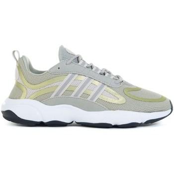 Scarpe Unisex bambino Running / Trail adidas Originals Haiwee J Verde, Giallo