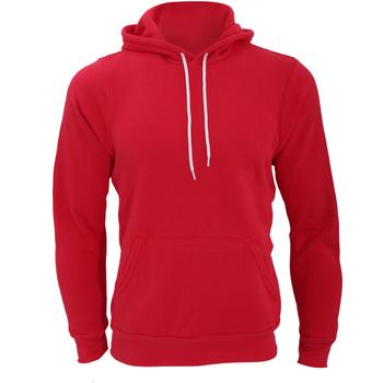 Abbigliamento Uomo Felpe Bella + Canvas CA3719 Rosso