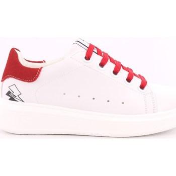 Scarpe Unisex bambino Sneakers basse Asso 343 - AG-5415B Bianco