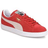 Scarpe Uomo Sneakers basse Puma SUEDE CLASSIC + Rosso / Bianco