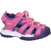 Scarpe Bambina Sandali sport Geox J020WB 05015 J BOREALIS Rosa
