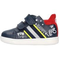 Scarpe Bambino Sneakers Falcotto - Polacchino blu/rosso ATLEY-1C23 BLU