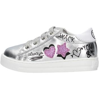 Scarpe Bambino Sneakers Falcotto - Polacchino argento MERVI-1Q01 ARGENTO