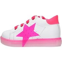 Scarpe Bambino Sneakers Falcotto - Polacchino bianco/rosa VENUS-1N19 BIANCO