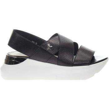 Scarpe Donna Sandali Braccialini Tua T99A BLACK-UNICA - Sandalo fas  Nero