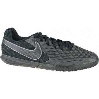 Scarpe Unisex bambino Sport Indoor Nike Tiempo Legend 8 Club IC Jr nero