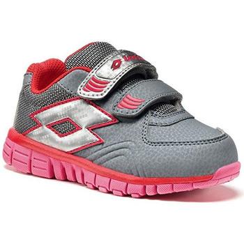 Scarpe Bambina Sneakers basse Lotto ATRMPN-17793 Grigio