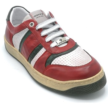 Scarpe Uomo Sneakers Exton 310 Rosso-bianco-verde