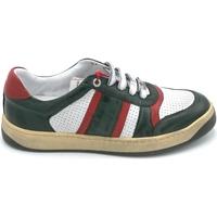 Scarpe Uomo Sneakers Exton 310 Verde-bianco-rosso