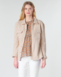 Abbigliamento Donna Giacche / Blazer Betty London MOUCHE Beige