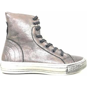Scarpe Donna Sneakers alte Anna Foglia ATRMPN-17844 Argento