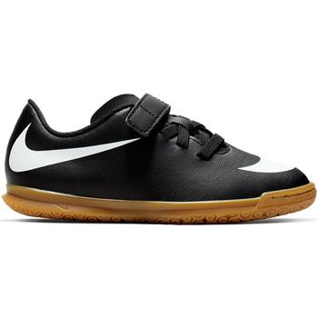 Scarpe Bambino Calcio Nike JR  BRAVATA II (V) IC Scarpe Calcetto Boys 844439 Nero