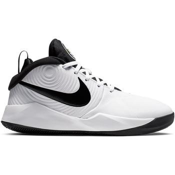 Scarpe Bambina Pallacanestro Nike TEAM HUSTLE D 9 (GS) AQ4224 100 Bianco