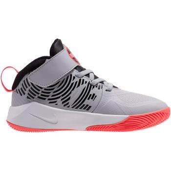 Scarpe Bambino Pallacanestro Nike TEAM HUSTLE D 9 (PS) AQ4225 007 Grigio