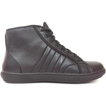 Scarpe Uomo Sneakers alte Axa ATRMPN-17859 Nero