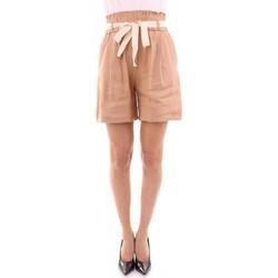 Abbigliamento Donna Shorts / Bermuda Semicouture S0SK51 BEIGE