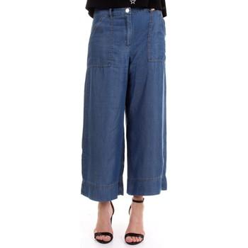Abbigliamento Donna Pantaloni morbidi / Pantaloni alla zuava Pennyblack 31810120 Celeste