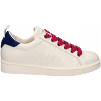 Scarpe Donna Sneakers basse Panchic LOW CUT LEATHER FULL GRAIN white-l-fuxia