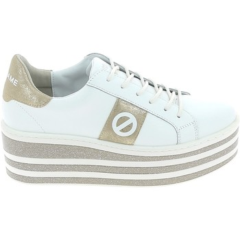 Scarpe Donna Sneakers basse No Name Boost Blanc Or Bianco