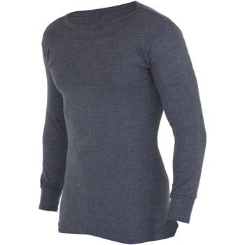 Abbigliamento Uomo T-shirts a maniche lunghe Floso  Carbone