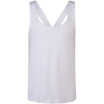 Abbigliamento Bambina Top / T-shirt senza maniche Skinni Fit SM241 Bianco