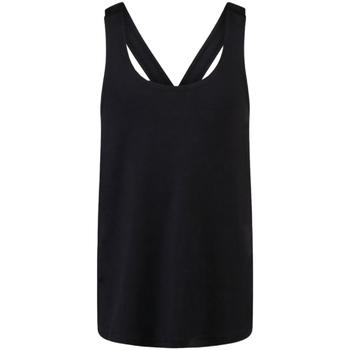 Abbigliamento Bambina Top / T-shirt senza maniche Skinni Fit SM241 Nero