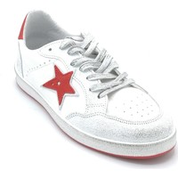 Scarpe Uomo Sneakers In My Shoes G20.02 Bianco-rosso