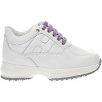 Scarpe Bambina Sneakers basse Hogan HXC00N0O241FH5 9981-UNICA - In  Bianco