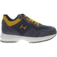 Scarpe Bambina Sneakers basse Hogan HXC00N0V311NM8 374S-UNICA - In  Blu