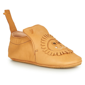 Scarpe Unisex bambino Pantofole Easy Peasy BLUBLU LION Cognac