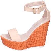 Scarpe Donna Sandali Solo Soprani sandali pelle sintetica beige