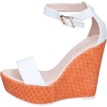 Scarpe Donna Sandali Solo Soprani sandali pelle sintetica bianco