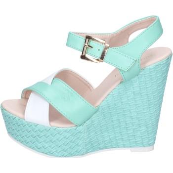 Scarpe Donna Sandali Solo Soprani sandali pelle sintetica verde