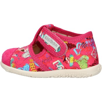 Scarpe Bambino Sneakers basse Balocchi - Pantofola fuxia 10433 FUXIA