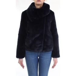 Abbigliamento Donna Cappotti Meheran 18183 Giacca Donna Blu Blu