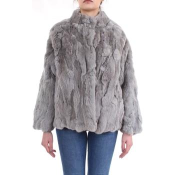 Abbigliamento Donna Cappotti Meheran 17200 Giacca Donna Grigio Grigio