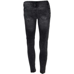 Abbigliamento Donna Jeans slim Malu Shoes Jeggins donna skinny jeans elastizzato vita bassa slow waist la NERO