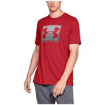 Abbigliamento Uomo T-shirt maniche corte Under Armour Boxed Sportstyle Rosso