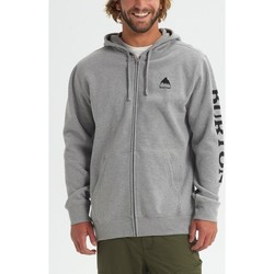 Abbigliamento Uomo Felpe Burton Men's Elite Full Zip Hoodie Gray Heather