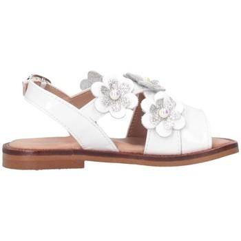 Scarpe Bambina Sandali Cucada 17004AA Sandalo Bambina Bianco Bianco