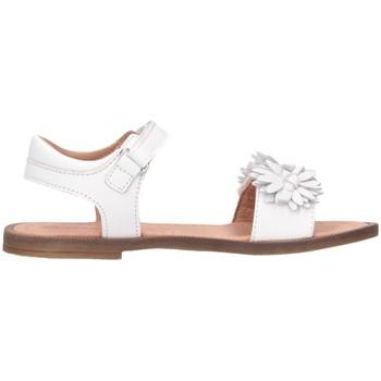 Scarpe Bambina Sandali Romagnoli 5796-126 Sandalo Bambina Bianco Bianco