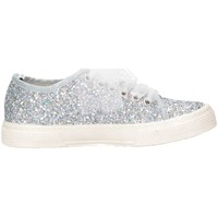 Scarpe Bambina Sneakers basse Magil Made In Italy UNICHINA Argento