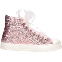 Scarpe Bambina Sneakers alte Magil Made In Italy UNICA Rosa