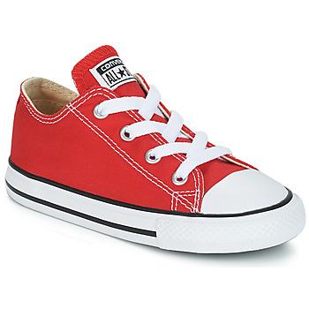 Scarpe Unisex bambino Sneakers basse Converse CHUCK TAYLOR ALL STAR CORE OX Rosso