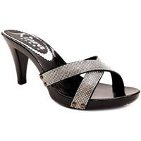 Scarpe Donna Ciabatte Kiara Shoes K6570 Nero