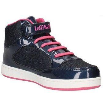 Scarpe Bambina Sneakers alte Lelli Kelly LK6828 Blu